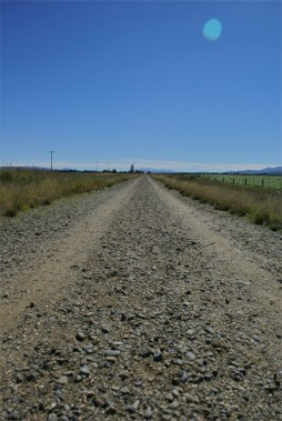 A nice long flat section across the Maniatoto Basin