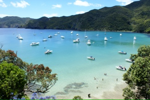Oke Bay, bay of islands, new zealand