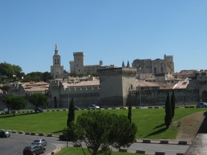 The 14th Century Palace dominates the old city.