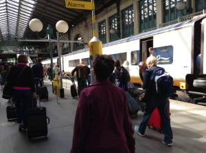 Eurostar, St Pancras London
