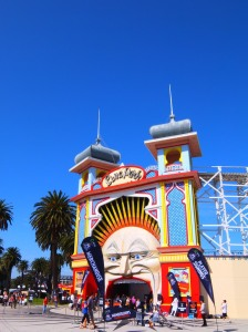 Luna Park was not where we were headed by bus