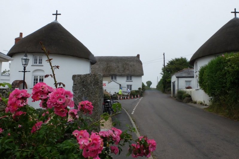 We loved the white washed cottages with the thatched roofs, even say a master thatcher in action in one village.