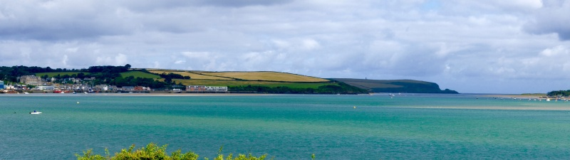 Looking back towards Padstow across the Camel Estuary
