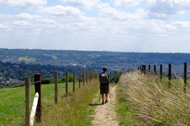 The final descent to Bath (well so we thought)