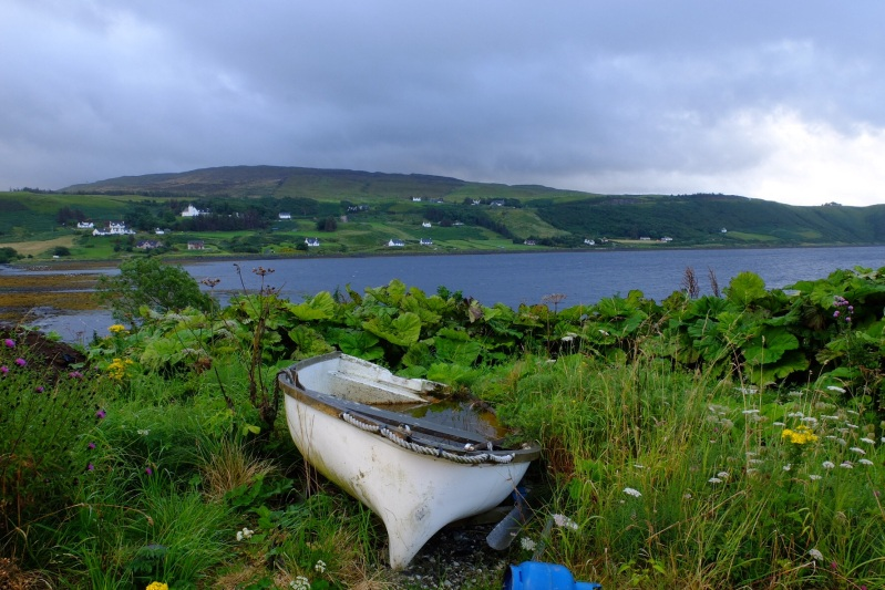 A typical Skye village, this one was Uig where you could catch the ferry to the larger Isles to the West