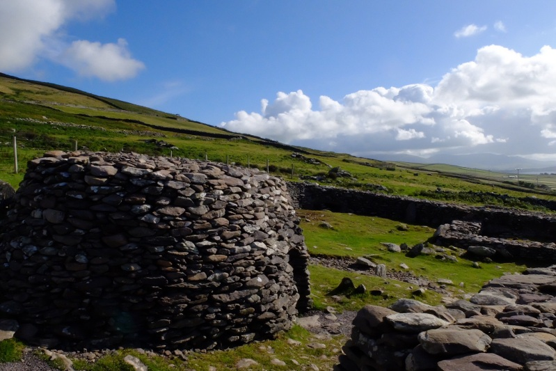 The beehive huts that date back to 2000 BC