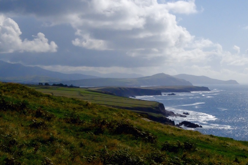 Looking back towards Dingle town from close to Slee Head