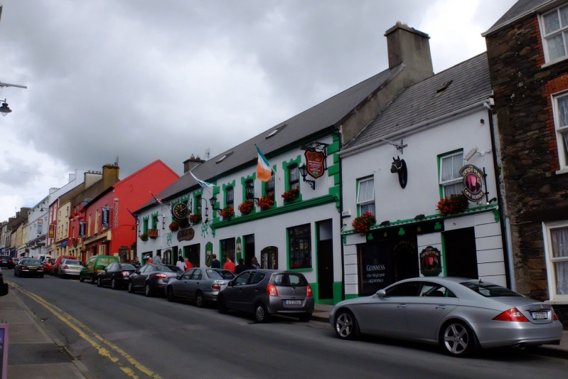 Dingle town, more pubs than people.