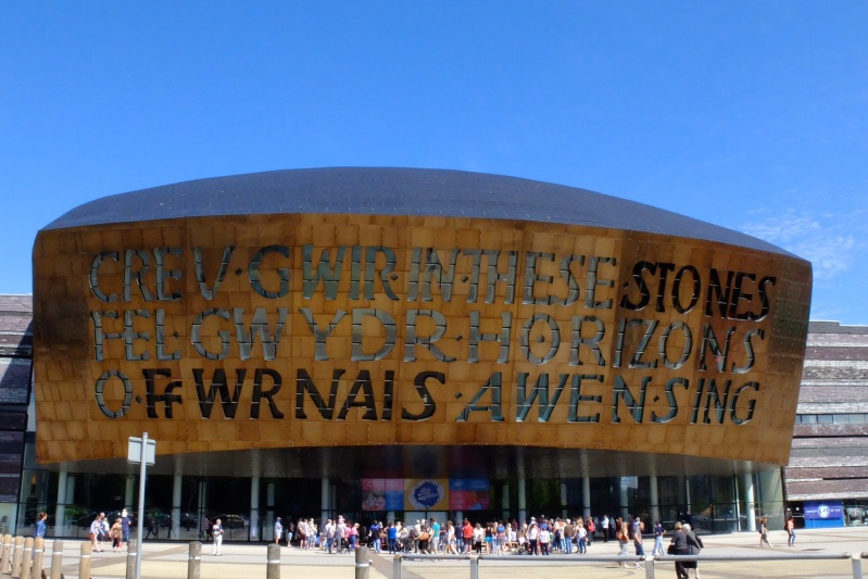 The Millenium Centre in Cardiff
