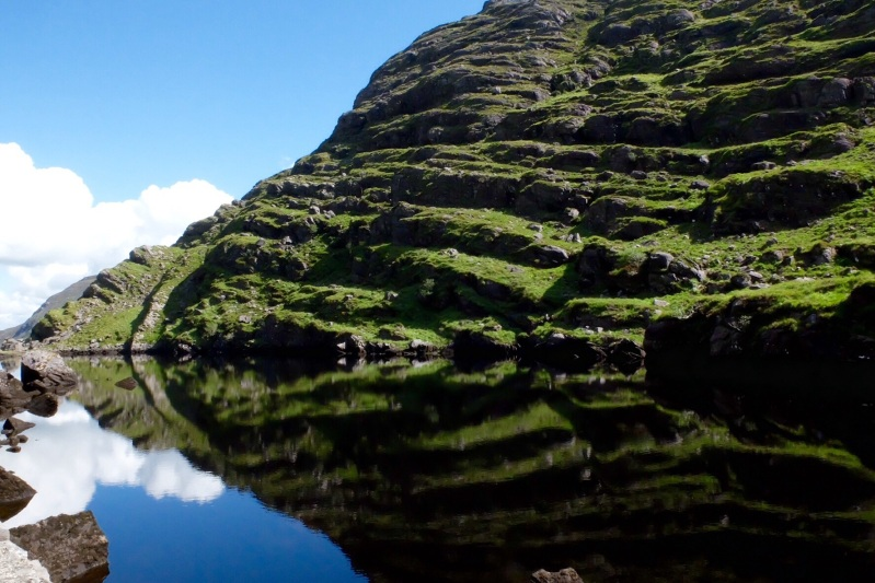 One of the many Loughs walking up through the Gap of Dunloe
