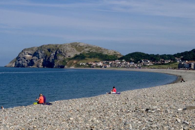 The bulk of the bay was rocky and unpopular - Llandudno