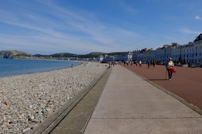 The promenade at Llandudno