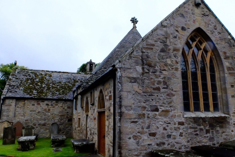 The Auld Kirk in Cullen. Billl told us that they found the