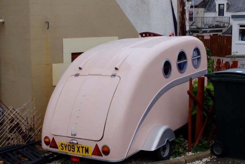 A cute old caravan in Portknockie