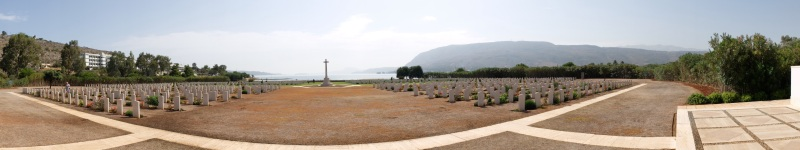Commonwealth war graves in Souda Bay Crete. Most were under 25 and from countries far removed