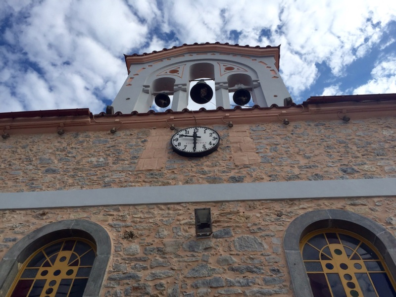 Church bells at Tzermiado on the Lasithi Plateau.