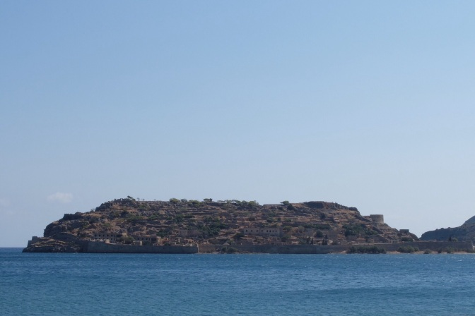 Spinalonga Fortress, originally built as a Ventian fortress, later became the major Muslim trading center for the surrounding Gulf of Mirambelo, then the last operable Leper colony in the World finally closing in the 1950s, it also served as a base for Empire Airways flying boat services through to Egypt and on to Australia.