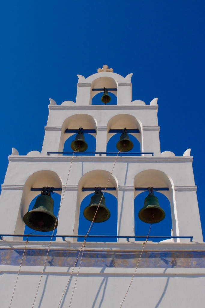 The Church bells on Santorini.