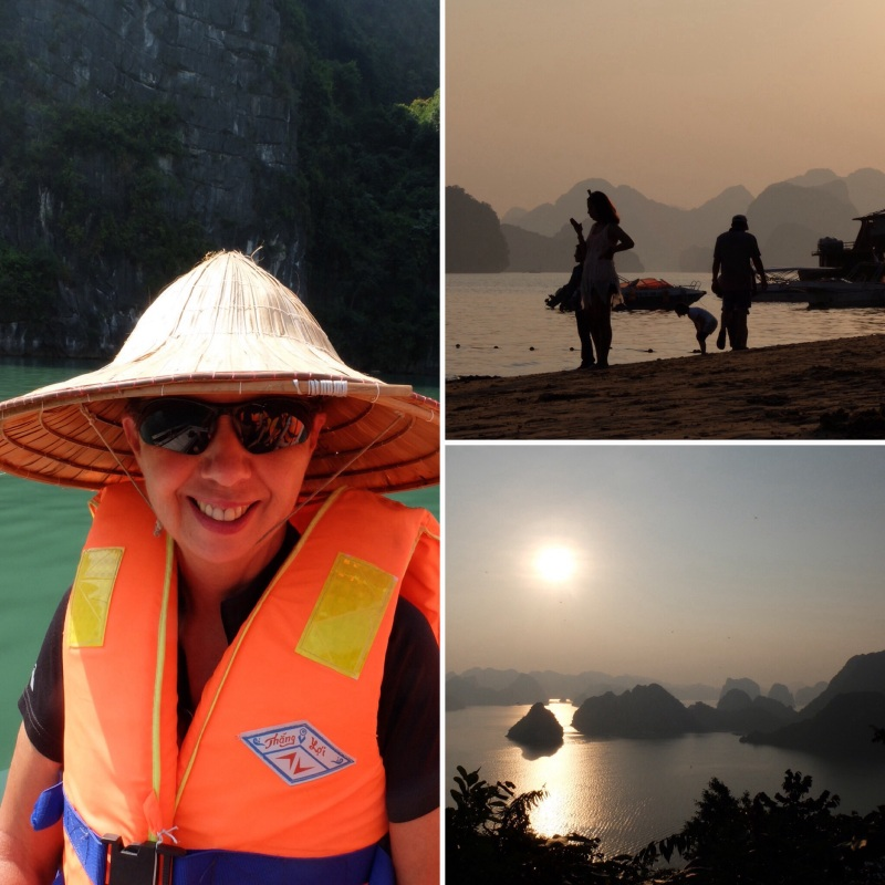 A selection of images from Halong Bay. It was a four hour drive from Hanoi, the distance was not great but the pace was slow.