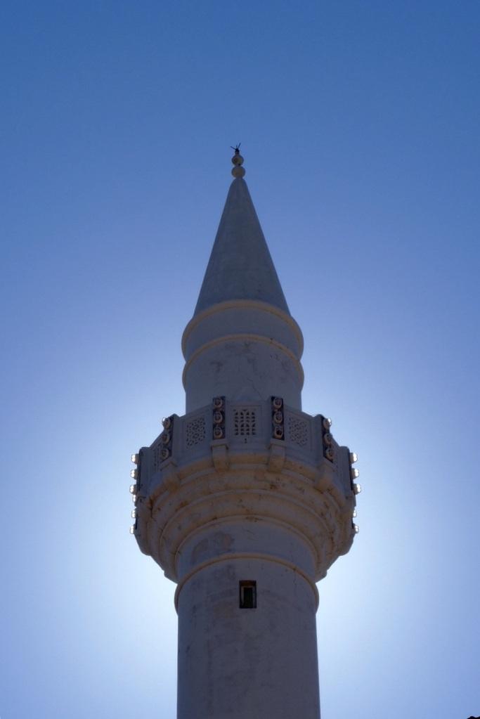 The minarets in Rhodes were a little more impressive than in Crete