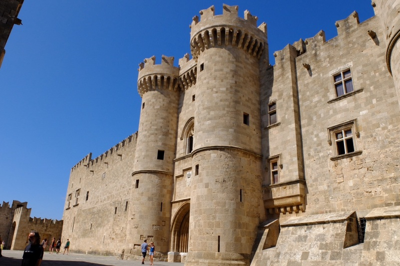 The Grand Masters Palace in Rhodes Town. The Knights og St John set up shop in this area of the World following the Crusades until they were finally dislodged by the Ottomans in the 16th Century.