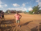 Heading back across the equator