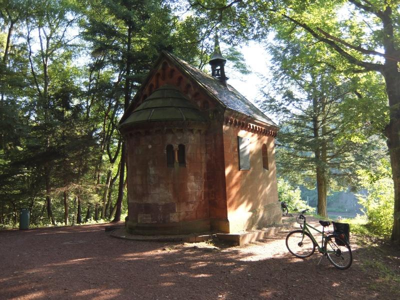 Saar River Bike trail