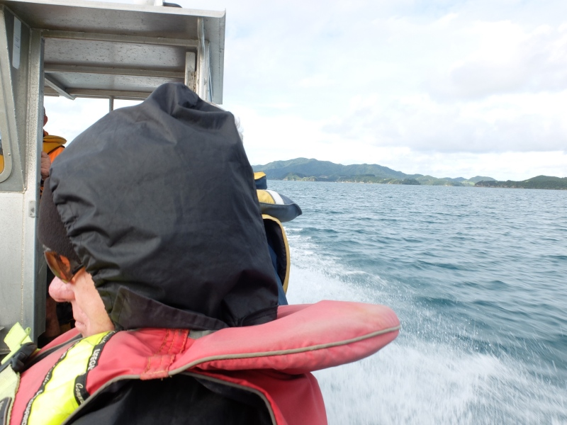 Barge trip Bay of Islands