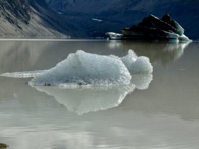 Reflective berg