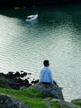 A quiet rock