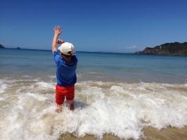 Hello waves - Matauri Bay
