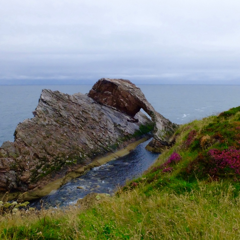 Bow Fiddle rock - Moray Coast Scotland