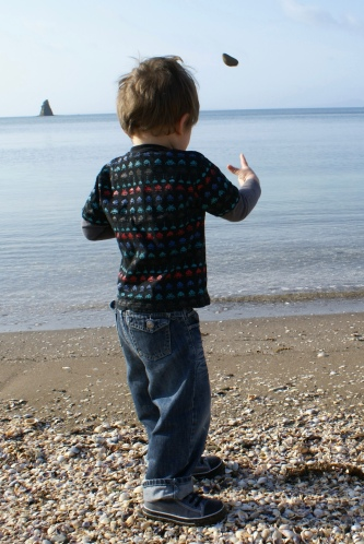 Learning to throw stones