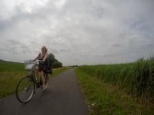 Cycling along in Holland - Captured on the GoPro
