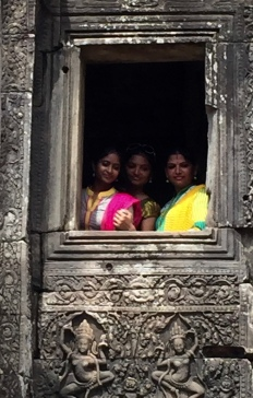 Angkor Wat - Ruth captured shot on iPhone