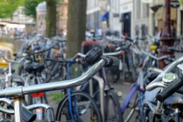 Nowhere left to park the bike, Amsterdam