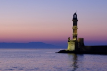 Entrance to the Harbour - Chania, Crete