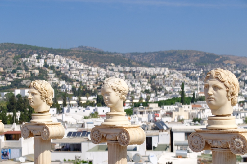 Eye candy at our lodgings - Bodrum, Turkey
