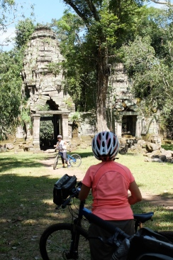 Cycling Angkor Wat