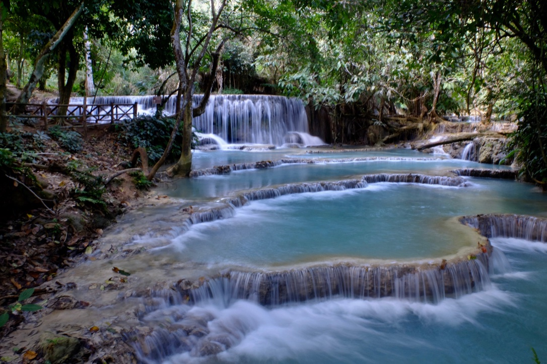 Luang Prabang – gardens and waterfalls