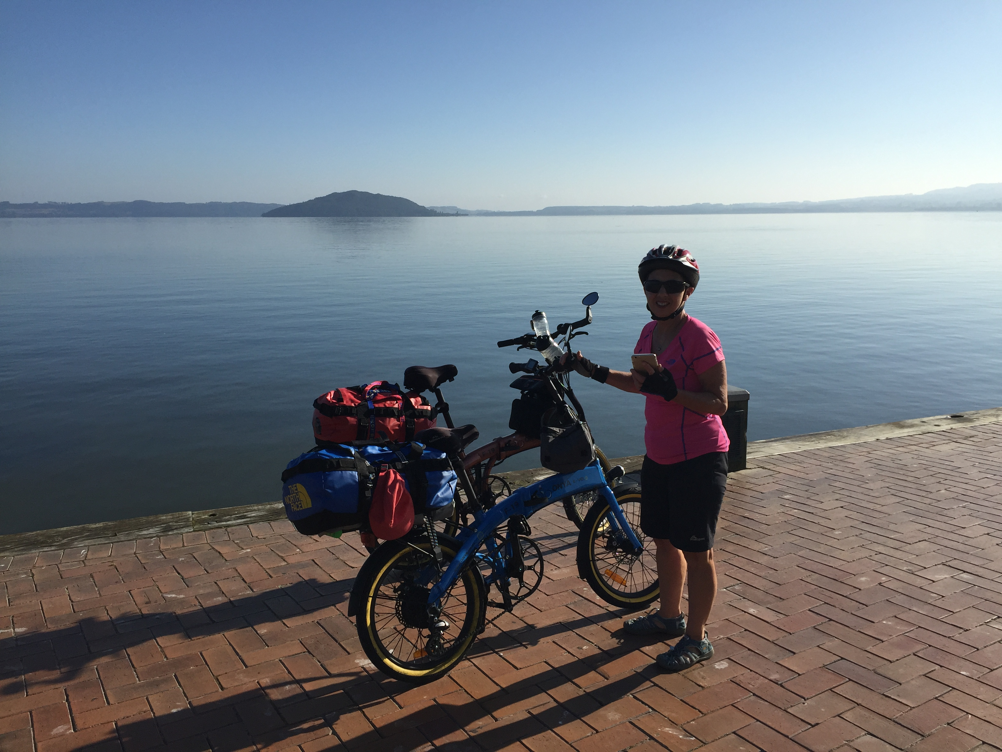 Bike trip: Stage 1 to Taupo