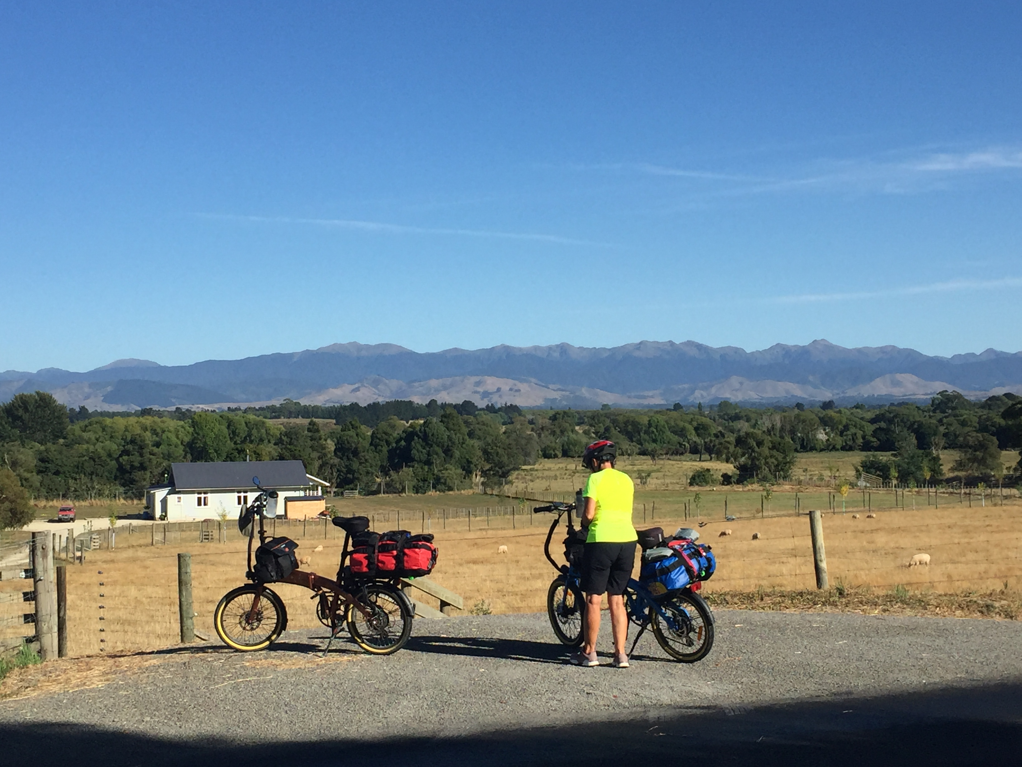 Kiwi bike trip: The last leg to Wellington