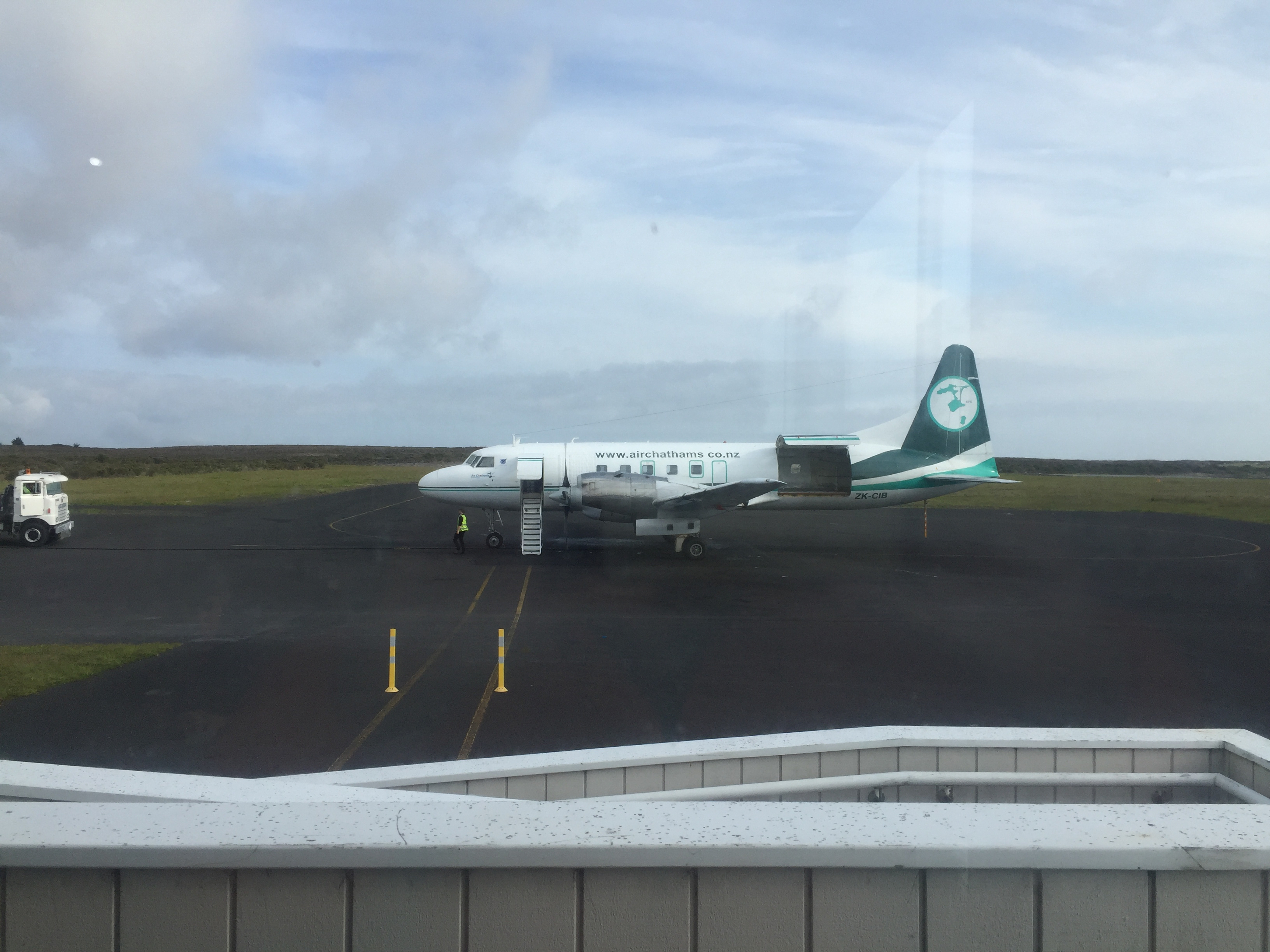 'Nostalgia' in the air – flying to the Chatham Islands